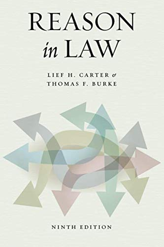 Reason in Law: Ninth Edition from Univ of Chicago Pr