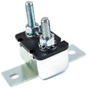 25 Amp Auto Reset Nuts//Washers 25A Type 1 Circuit Breaker CB130-25 Bracket