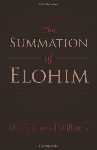 The Summation of Elohim