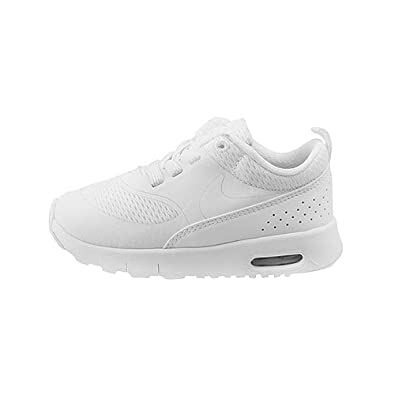 98277230f90d ... official nike kids air max thea infant toddler white metallic silver  white girls shoes 98702 09f31