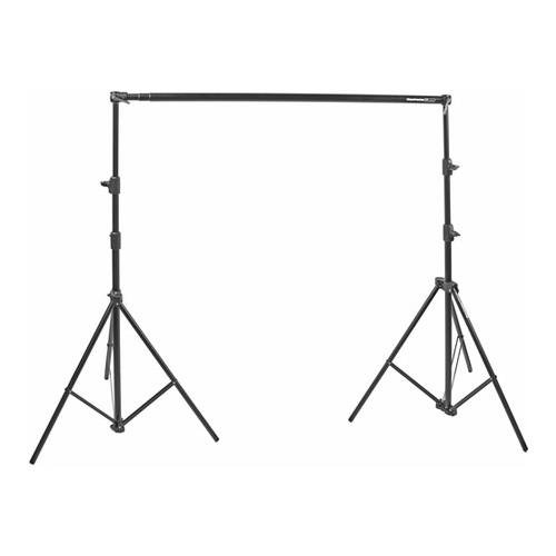 Manfrotto Black Free Standing Background Support System, with Crossbar & Stands by Lastolite