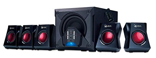 Genius GX-Gaming 5.1 Surround Sound 80 Watts Gaming Speaker System with Remote Control (G5.1 3500)