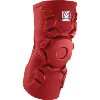 Brute Exo Kneepad - SIZE: Youth Medium, COLOR: Red ()