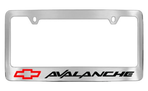 chevrolet-chevy-avalanche-license-plate-frame-holder
