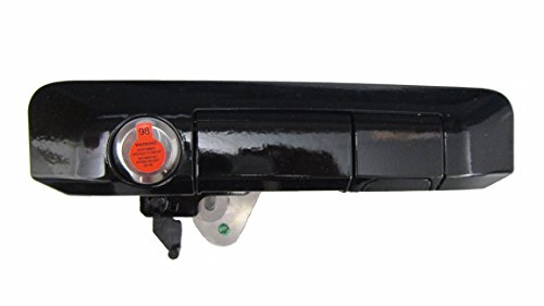 - Pop & Lock PL5410 Gloss Black: J202 Paint Code Manual Tailgate Lock with BOLT Codeable for Toyota Tacoma