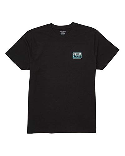 Billabong Men's Graphic T-Shirts, Keyline Black XL