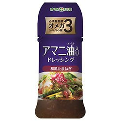 日本製粉 オーマイプラス アマニ油入りドレッシング 和風たまねぎ 150ml×12本入×(2ケース) B078HTFBMK