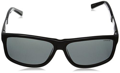 P 59 Ar Gafas Pz de Unisex Grey Black Polaroid Adulto Gunmetal Negro Sol 1T BC5 X8416 Fd1wZg