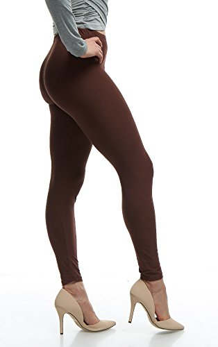 (Lush Moda Extra Soft Stretch Pants Leggings - Variety of Colors -)