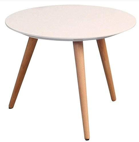 HomeTrends4You 172926 Mesa de café, Altura 36 cm/diámetro 50 cm ...