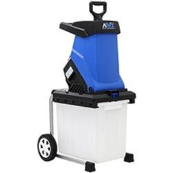 AAVIX AGT308 15 Amp Electric Chipper & Shredder, Blue