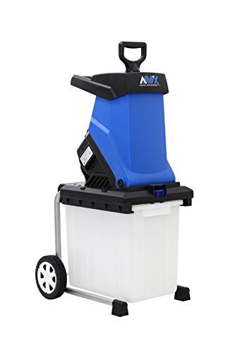 AAVIX AGT308 15 Amp Electric Chipper & Shredder, Blue