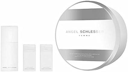 Estuche Angel Schlesser Femme Edt 100 ml + Regalo Leche Corporal + Gel: Amazon.es: Belleza