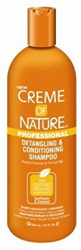 Creme Of Nature Detangling Shampoo - Creme of Nature Professional Detangling and Conditioning Shampoo, 20 oz (Pack of 3)