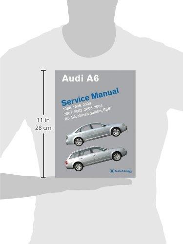 audi a6 c5 service manual 1998 1999 2000 2001 2002 2003 rh amazon co uk 2001 audi a6 2.8 quattro owners manual 2001 audi a6 quattro owners manual