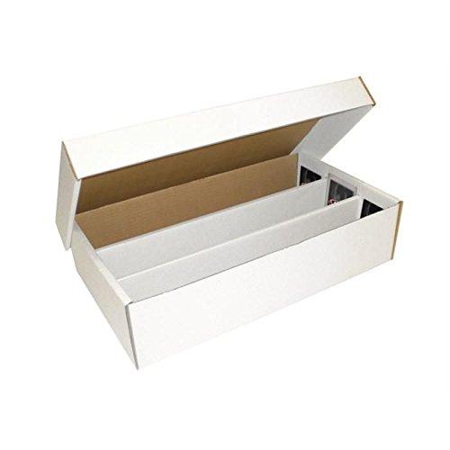 3 Row Box - BCW Super Shoe Storage Box, 3000 Count