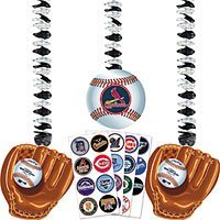MLB Personalize It Dangling Cutouts by Amscan (Baseball Cutout)