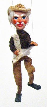 Mexican Marionette Puppets - Senor (Senior)]()