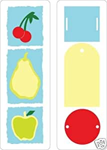 Cuttlebug frutas y etiquetas 22x 6Dies