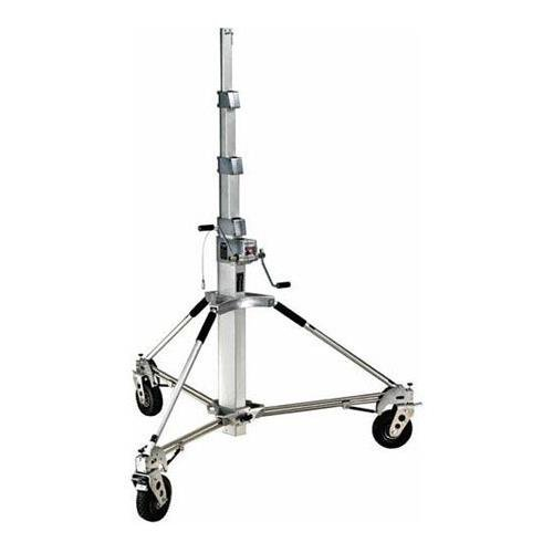 Avenger B7057FF Long John Silver 19-Foot Stand with Braked Foam Fill Wheels (Chrome)