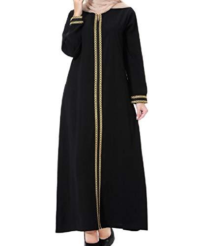 Arab Long East Middle Gown Women Maxi golden Turkey Coolred Dress gx5qnZ6n