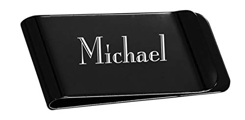 (Visol Personalized Stainless Steel Money Clip with Custom Engraving (Matte)