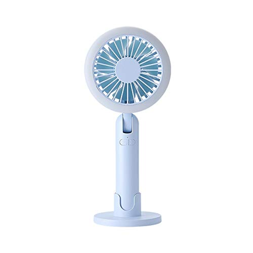 Bathroom Tanle Fan Outdoor Pedestal Fan Simple Handheld Small Fan Light Mini Fan Second Generation Night Light Small Fan