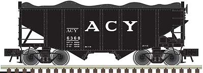 - Atlas 50003688 - 55 Ton Fishbelly Hopper - AC&Y 6368 - N Scale