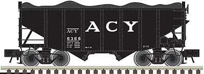 Atlas 50003687 – 55 Ton Fishbelly Hopper – AC&Y 6347 – N Scale ()