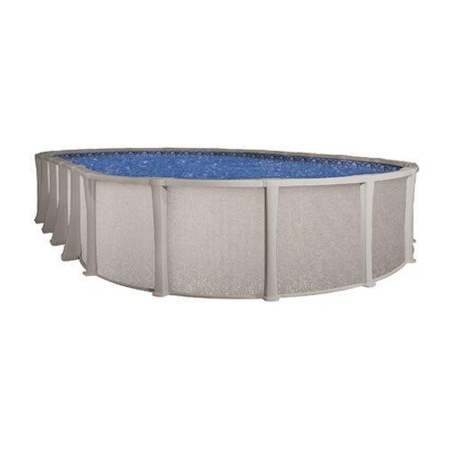 54 Resin Pool - Matrix 18' x 33' Oval 54'' Resin Above Ground Swimming Pool