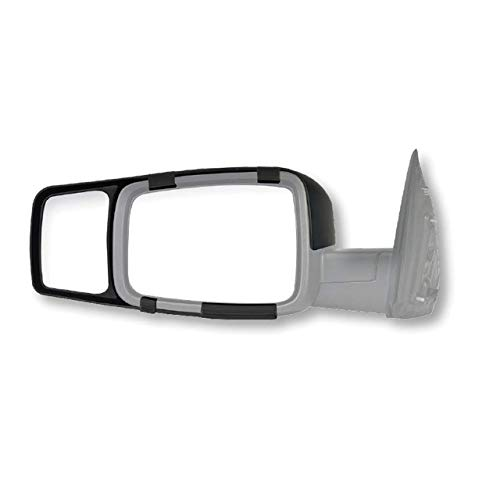 Fit System Black K-Source 80710 Towing Mirror Ram 1500 2009-11 (Renewed) ()