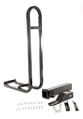 Rear Seat Trailer Hitch With Receiver And Grab Bar For Back Of Golf Cart