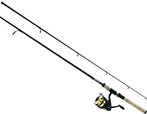 Daiwa DSK25-B F662M D-Shock Freshwater Spinning Combo, 2500, 6 6 2Piece Rod, 6-14 lb Line Rate, 1 4-3 4 oz Lure Rate