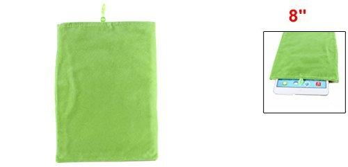 Amazon.com: eDealMax 8 7,9 práctico Portable de la caja del filtro de la Manga de terciopelo Verde de la bolsita Para el teléfono 1 2: Electronics