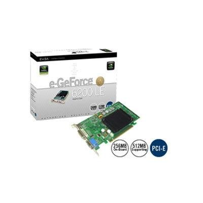 eVGA e-GeForce 6200 LE 256MB DDR PCIe Graphics Card 256-P2-N297-LX
