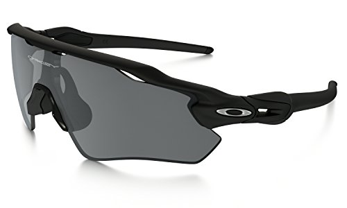 Oakley Radar EV Path Sunglasses Matte Black with Black Iridium Lens + - Oakley Case Radar