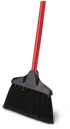 Libman Commercial 915 Lobby Broom, 38'' Length, 10'' Width, Black/Red (Pack of 6) by Libman Commercial