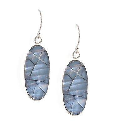 13b825f1e Amazon.com: Jody Coyote Earrings MO-0911-10 Mosaic Collection silver:  Jewelry