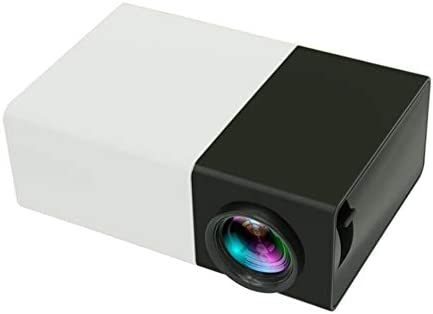 FEZBD Proyector, 3200 Lux Proyector de Video Mini Multimedia ...