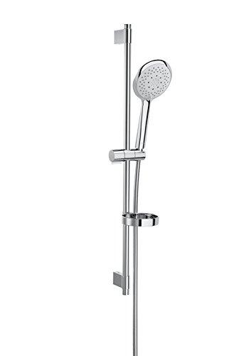 Roca Sensum - Kit de ducha. incluye ducha de mano de 130 mm de 4 funciones, barra de 800 mm, soporte regulable . Duchas y rociadores. Ref. A5B9107C00