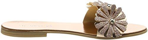 Flat Pink Bouquet Sandales Lollipops Femme Rose Bout Ouvert qZHw5