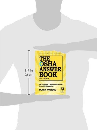 The OSHA Answer Book: Mark Moran, Patti Watson: 9781890966676