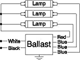 ROBERTSON 3P20167 Fluorescent eBallast for 3
