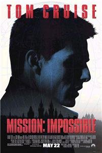 Mission Impossible 27X40 D/S Original Movie Poster One Sheet Tom Cruise