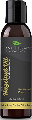 Plant Therapy Hazelnut Carrier Oil. A Base Oil for Aromatherapy, Essential Oil or Massage use. 4 (Hazelnut Essential Oil)