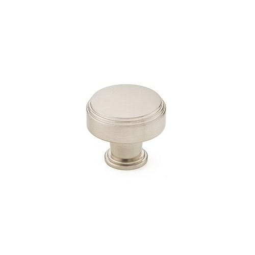 Emtek 86432 Newport 1-1/4 Inch Diameter Mushroom Cabinet Knob from the American, Satin (Newport Cabinet Hardware Knob)