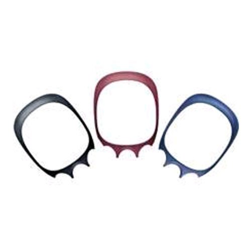 OEM Kyocera KE414, KX414 Bold Faceplate - 3 Pack (Candy Red, Gloss Black, Metallic Blue)
