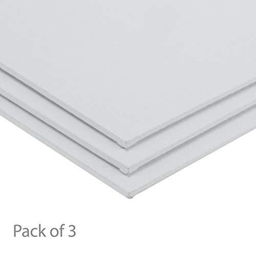 Centurion All-Media Primed Linen Panels 3-Pack 8x10