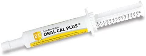 Revival Animal Health Breeders' Edge Oral Cal Plus- Fast-Absorbing Oral Calcium Supplement - 30 ml Paste