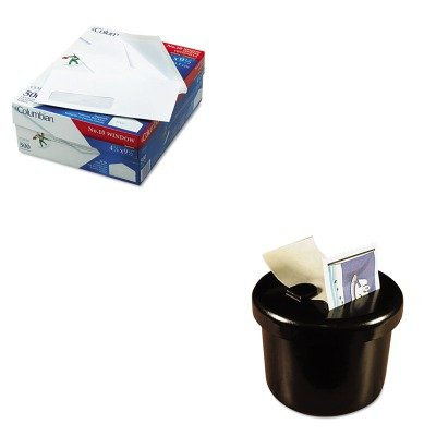 KITLEE40100QUACO170 - Value Kit - Columbian Poly-Klear Single Window Envelopes (QUACO170) and Lee Ultimate Stamp Dispenser (LEE40100) by Columbian Envelopes